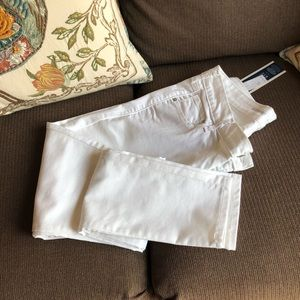 NWT Old Navy Rockstar 12 Tall White Skinny Jeans